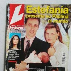 Coleccionismo de Revistas: REVISTA LECTURAS N° 2202 17 JUNIO 1994 ESTEFANÍA CARMINA ORDÓÑEZ TITA CERVERA MASSIEL ESTHER ARROYO. Lote 111829382