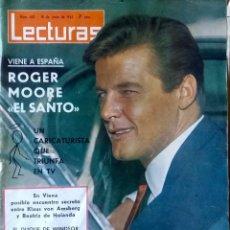 Coleccionismo de Revistas: LECTURAS. JUNIO 1965. ROGER MOORE. REVISTA.. Lote 112106343