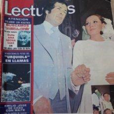 Coleccionismo de Revistas: REVISTA LECTURAS. 1259. BODA ROCÍO JURADO.. Lote 112691359