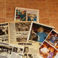 Coleccionismo de Revistas: ARTICULOS DE PRENSA SOBRE UN DOS TRES MAYRA DON CICUTA CHICHO IBAÑEZ SERRADOR TV TVE. Lote 112697723