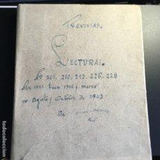 Coleccionismo de Revistas: LECTURAS 1942 - 3. Lote 112980987