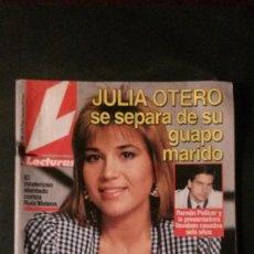 Coleccionismo de Revistas: EMMA SUAREZ-MIGUEL BOSE-LOREDANA BERTE-MISS ESPAÑA-ROCIO JURADO-ISABEL PANTOJA-ESTEFANIA . Lote 115486031