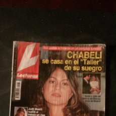 Coleccionismo de Revistas: ISABEL PANTOJA-MISS ESPAÑA-JUDIT MASCÓ-SUPERMAN-STING-JAIME DE MORA-CARMEN SEVILLA-EVA COBO. Lote 115499815