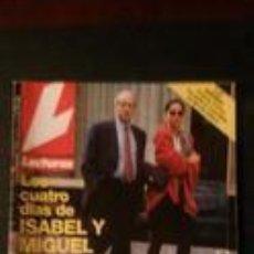 Coleccionismo de Revistas: ISABEL PREYSLER-EMILIO ARAGON-ANA OBREGON-JUDIT MASCÓ-CARMEN CERVERA-PALOMA SAN BASILIO-BUTRAGUEÑO . Lote 115512815