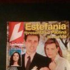 Coleccionismo de Revistas: ESTEFANIA-MASSIEL-UN DOS TRES-MICHAEL JACKSON-CARMEN CERVERA-MARISOL-ISABEL PANTOJA-ROCIO DURCAL . Lote 115512899