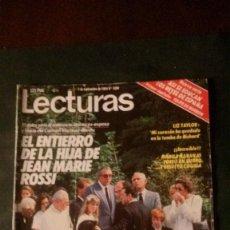 Coleccionismo de Revistas: ISABEL PREYSLER-AMPARO MUÑOZ-JAMES BOND-BILLY JOEL-STEVIE WONDER-UN DOS TRES-SARA MONTIEL. Lote 115535959