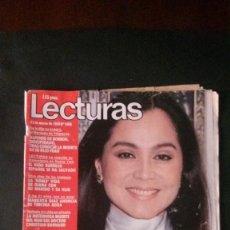 Coleccionismo de Revistas: ISABEL PREYSLER-FELIX RODRIGUEZ DE LA FUENTE-SARA MONTIEL-EMILIO ARAGON-RAFFAELLA CARRA-BARÇA . Lote 115579455
