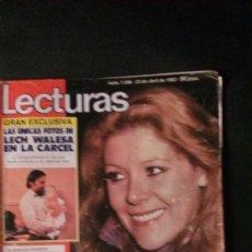Coleccionismo de Revistas: UN DOS TRES-ROCIO DURCAL-BEATRIZ ESCUDERO-QUINI-ERASE UNA VEZ-LECH WALESA-DYANGO-PAQUIRRI . Lote 115586251