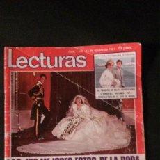 Coleccionismo de Revistas: BODA DIANA GALES-DALLS-FRANCIS FRANCO-BARBIE PRINCESA-MASSIEL-ABBA-LOS CANARIOS-BRUNO LOMAS . Lote 115589543
