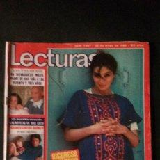 Coleccionismo de Revistas: ANGELA MOLINA-LOLA FLORES-BANNER FLAPI-LENCERIA-AGATA LYS-PECOS-MIGUEL BOSE-MOCEDADES-LLUIS LLACH . Lote 115594687
