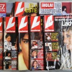 Coleccionismo de Revistas: LOTE 8 REVISTAS LECTURAS Y OTRAS. Lote 116165479