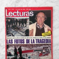 Coleccionismo de Revistas: LECTURAS - 1980 - FÉLIX R. DE LA FUENTE, JOANNA CASSIDY, ANDRÉS PAJARES, I. PREYSLER, SARA MONTIEL. Lote 116717063
