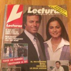 Coleccionismo de Revistas: LECTURAS - JULIO IGLESIAS - RAPHAEL. Lote 116858267