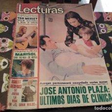 Coleccionismo de Revistas: LECTURAS Nº 1207 AÑO 75 MARISOL,SARA MONTIEL,JOSE ANTONIO PLAZA,CAMILO SESTO,RAPHAEL,CONCHITA,AVA GA. Lote 157006252