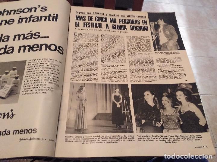 Coleccionismo de Revistas: LECTURAS Nº 1207 AÑO 75 MARISOL,SARA MONTIEL,JOSE ANTONIO PLAZA,CAMILO SESTO,RAPHAEL,CONCHITA,AVA GA - Foto 5 - 157006252
