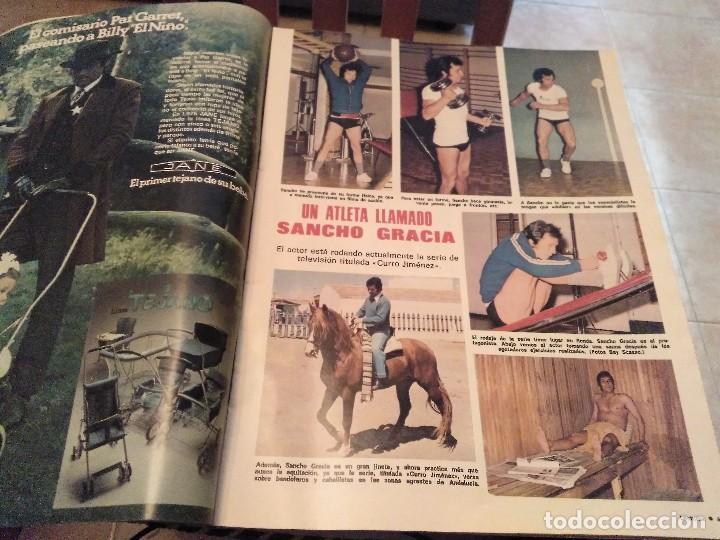 Coleccionismo de Revistas: LECTURAS Nº 1207 AÑO 75 MARISOL,SARA MONTIEL,JOSE ANTONIO PLAZA,CAMILO SESTO,RAPHAEL,CONCHITA,AVA GA - Foto 7 - 157006252