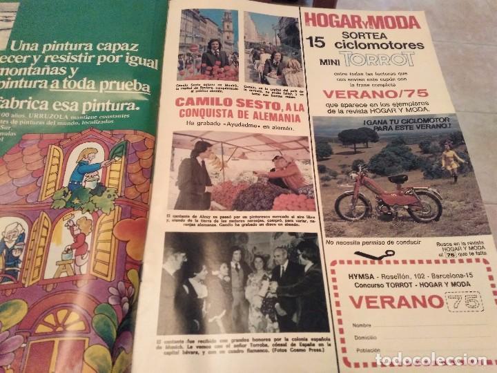 Coleccionismo de Revistas: LECTURAS Nº 1207 AÑO 75 MARISOL,SARA MONTIEL,JOSE ANTONIO PLAZA,CAMILO SESTO,RAPHAEL,CONCHITA,AVA GA - Foto 9 - 157006252