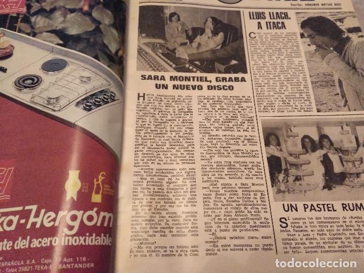 Coleccionismo de Revistas: LECTURAS Nº 1207 AÑO 75 MARISOL,SARA MONTIEL,JOSE ANTONIO PLAZA,CAMILO SESTO,RAPHAEL,CONCHITA,AVA GA - Foto 13 - 157006252