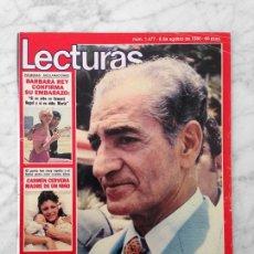 Collectionnisme de Magazines: LECTURAS - 1980 MUERTE DEL SHA, PERICO FERNANDEZ, CONCHA VELASCO, PETER SELLERS, ADRIANO PAPPALARDO. Lote 116964579