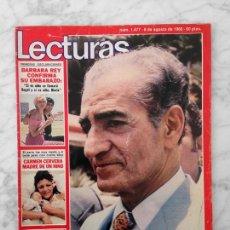Coleccionismo de Revistas: LECTURAS - 1980 - EL SHA, ANDRES PAJARES Y MAYRA, CONCHA VELASCO, PETER SELLERS, ADRIANO PAPPALARDO. Lote 117141123