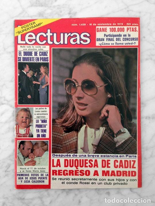 LECTURAS - 1979 - LOLITA, ROCIO JURADO, SUPERTRAMP, M.J. CANTUDO, SIREX, ANA BELEN, STAR TREK (Coleccionismo - Revistas y Periódicos Modernos (a partir de 1.940) - Revista Lecturas)