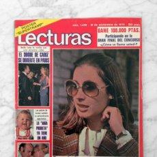 Coleccionismo de Revistas: LECTURAS - 1979 - LOLITA, ROCIO JURADO, SUPERTRAMP, M.J. CANTUDO, SIREX, ANA BELEN, STAR TREK. Lote 117197715