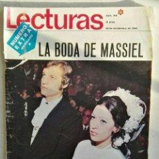 Coleccionismo de Revistas: LECTURAS N° 919 ESPECIAL LA BODA DE MASSIEL 28 NOVIEMBRE 1969. Lote 117323962