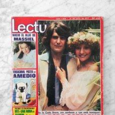 Coleccionismo de Revistas: LECTURAS - 1977 - MARY FRANCIS, SANCHO GRACIA, MARIA SCHNEIDER. MASSIEL, MANOLO OTERO, MIGUEL BOSE. Lote 117561667