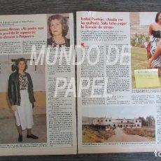 Coleccionismo de Revistas: RECORTE LECTURAS Nº 1981 1990 TERESA RIVERA, PAQUIRRI, ISABEL PANTOJA. Lote 117612931