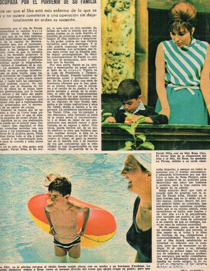 Coleccionismo de Revistas: Revista Lecturas nº 748, agosto 1966, Alain Delon y familia - Foto 3 - 117836583