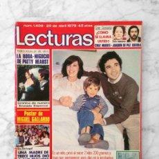 Coleccionismo de Revistas: LECTURAS - 1979 - CONCHA VELASCO, PEPE SANCHO, SERGIO Y ESTÍBALIZ, SUSANA ESTRADA, MABEL. Lote 118133271