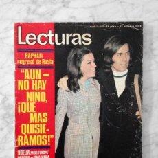 Coleccionismo de Revistas: LECTURAS - 1972 - RAPHAEL, NOELIA AFONSO, NINO BRAVO, MIKE KENNEDY, SERRANITO, DAVID CASSIDY. Lote 118196603