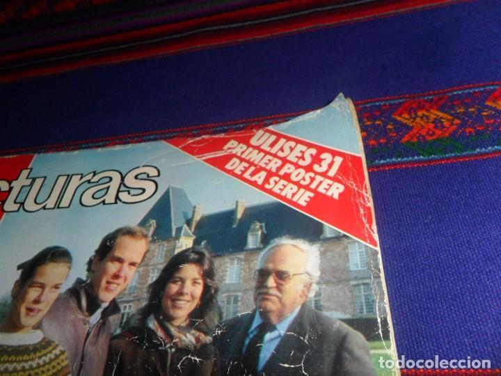 Coleccionismo de Revistas: LECTURAS Nº 1607 CON PÓSTER DE ULISES 31 Y PROMOCIÓN DE LA SERIE DE PÓSTERS. MUY RARA. - Foto 3 - 118235243