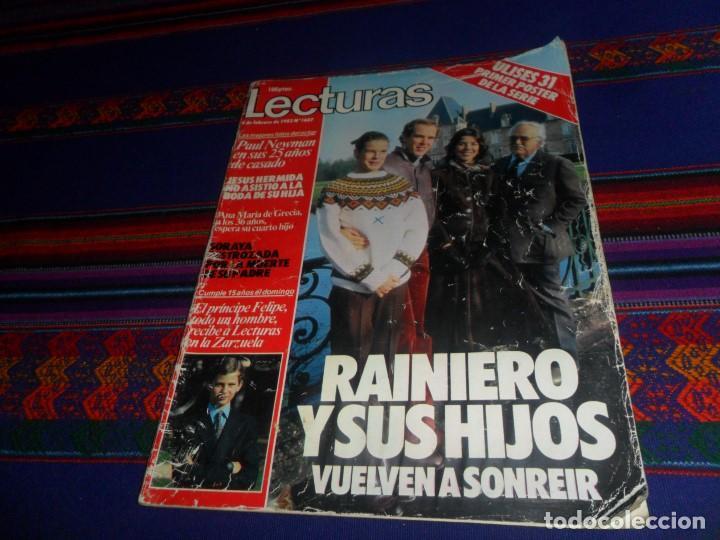 Coleccionismo de Revistas: LECTURAS Nº 1607 CON PÓSTER DE ULISES 31 Y PROMOCIÓN DE LA SERIE DE PÓSTERS. MUY RARA. - Foto 4 - 118235243