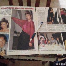 Coleccionismo de Revistas: RECORTE REVISTA 7 PAGINAS LECTURA AÑO 85 ASSUMPTA SERNA NUEVA VIDA NUEVO AMOR. Lote 118375519