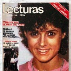 Coleccionismo de Revistas: LECTURAS - 1984 EVA NASARRE, MICHAEL JACKSON, MIGUEL BOSÉ, UN DOS TRES, CAROLINA, RAPHAEL, MOCEDADES. Lote 94301542