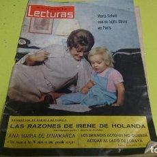 Coleccionismo de Revistas: ANTIGUA REVISTA LECTURAS AÑO 1964 - N° 626 . Lote 120831455