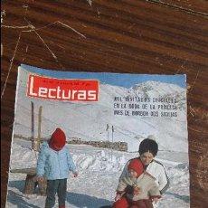 Coleccionismo de Revistas: LECTURAS ENERO 1965 - SORAYA - GRACE DE MONACO. Lote 121371463