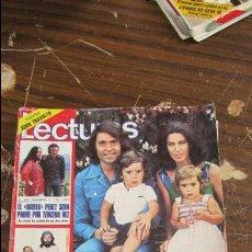 Coleccionismo de Revistas: LECTURAS JUNIO 1978 RAPHAEL Y NATALIA - PERET - KARINA - EL ALGARROBO. Lote 121373679
