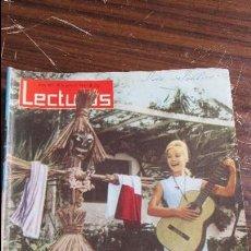 Coleccionismo de Revistas: LECTURAS JUNIO 1963 - MARISOL - FRANCO - OONA CHAPLIN. Lote 121374343