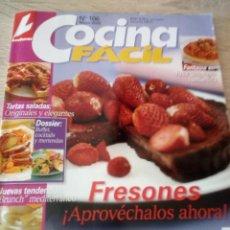 Coleccionismo de Revistas: COCINA FÁCIL - Nº 106 - MAYO 2006 - LECTURAS. Lote 121490419