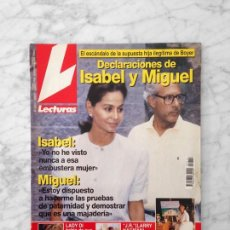 Coleccionismo de Revistas: LECTURAS - 1994 - LOLITA, MARTA SANCHEZ, MARIA CHAVARRI, TITA CERVERA, SARA MONTIEL, ANA OBREGON. Lote 121510047