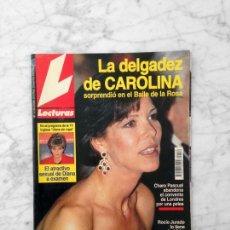 Coleccionismo de Revistas: LECTURAS - 1993 - CAROLINA, ANA BELEN, ISABEL PANTOJA, ROCIO JURADO, R. DURCAL, ANA OBREGON, DIANA. Lote 121578487
