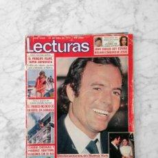 Coleccionismo de Revistas: LECTURAS - 1979 - JULIO IGLESIAS, MJ CANTUDO, R. CLAYDERMAN, PACO DE LUCIA, RAMONCIN, SUSI, MASSIEL. Lote 121964063
