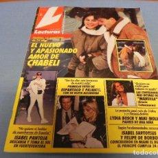 Coleccionismo de Revistas: REVISTA LECTURAS-1992-ISABEL PANTOJA-OBREGON-MISS ESPAÑA-LYDIA BOSCH-XUXA-JUDIT MASCO-ROCIO JURADO. Lote 122595035