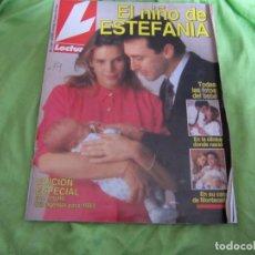 Coleccionismo de Revistas: REVISTA LECTURAS Nº 2.124 EL NIÑO DE ESTEFANIA 1992 . Lote 123484703