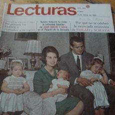 Coleccionismo de Revistas: LECTURAS 1968 ROCÍO DÚRCAL CLAUDIA CARDINALE ARTURO FERNANDEZ JUAN CARLOS Y SOFÍA . Lote 124910359