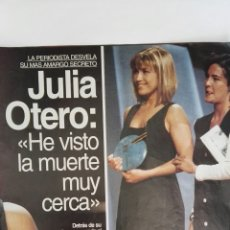 Coleccionismo de Revistas: RECORTE REVISTA LECTURAS REPORTAJE JULIA OTERO CLIPPING 3 HOJAS 3/6/1994. Lote 125051139