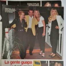 Coleccionismo de Revistas: RECORTE REVISTA LECTURAS 28/07/95 SOFIA MAZAGATOS ÁLVARO PÉREZ EL BIGOTES. Lote 125130483