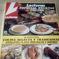 Coleccionismo de Revistas: LECTURAS - ESPECIAL RECETAS DE COCINA 2. Lote 126093615